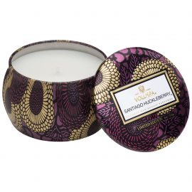 PETITE DECORATIVE CANDLE - SANTIAGO HUCKLEBERRY