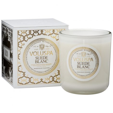 CLASSIC MAISON CANDLE - SUEDE BLANC