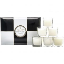 MAISON CHECKMATE VOTIVE CANDLE SET